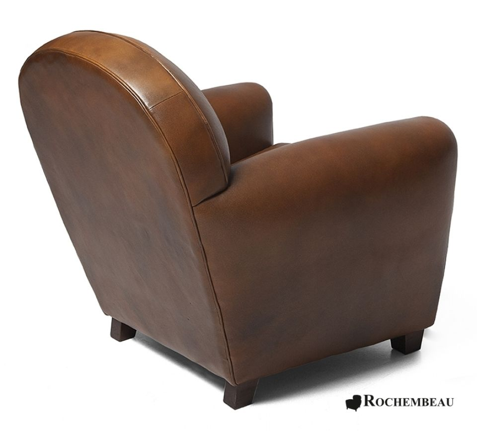 petit fauteuil club new york petit si ge club en cuir de mouton. Black Bedroom Furniture Sets. Home Design Ideas