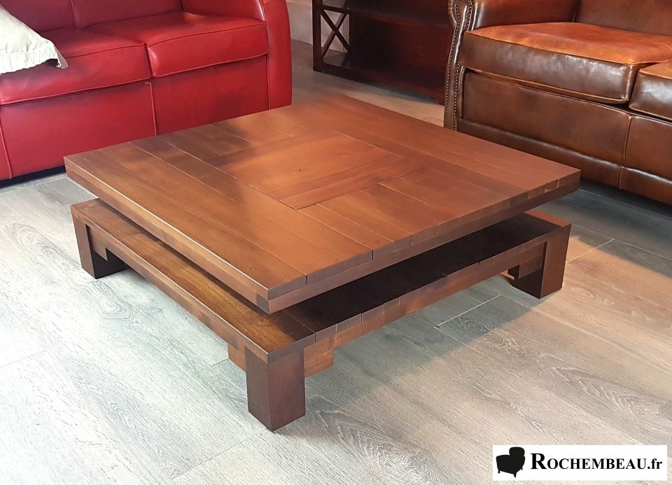 "Table basse ""sur-mesure"""